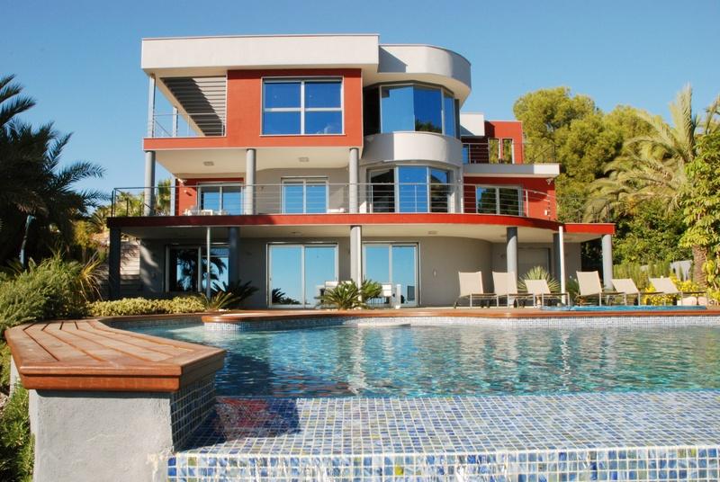 Luxe eerste lijn Villa