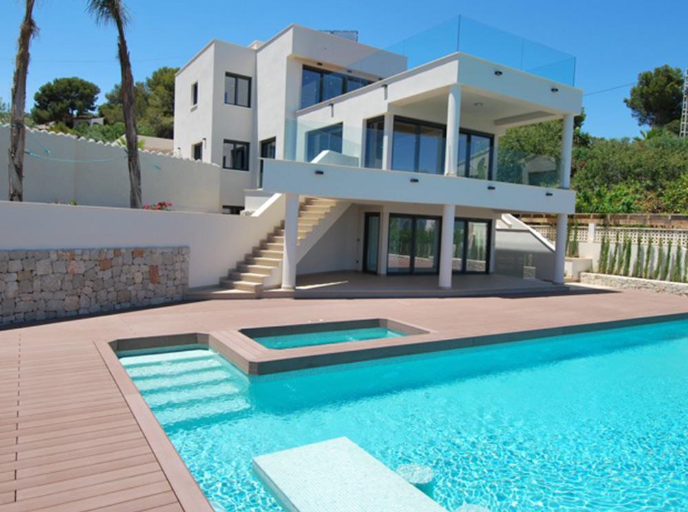 Luxe eerste lijn villa Benissa