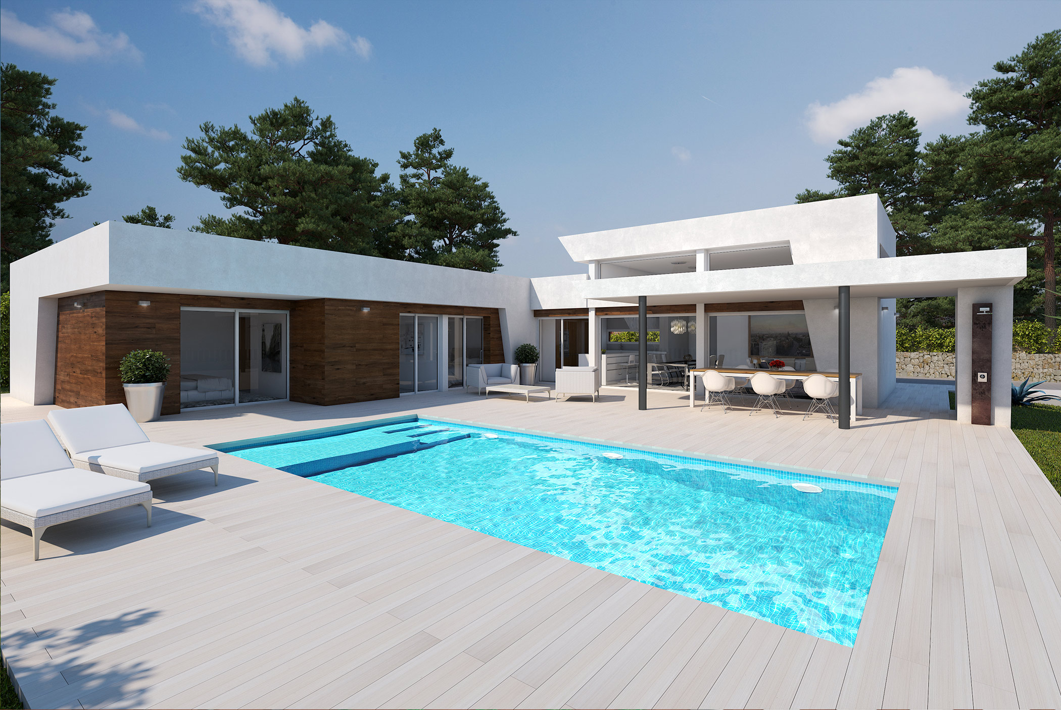 Nieuwbouw villa project  Calpe