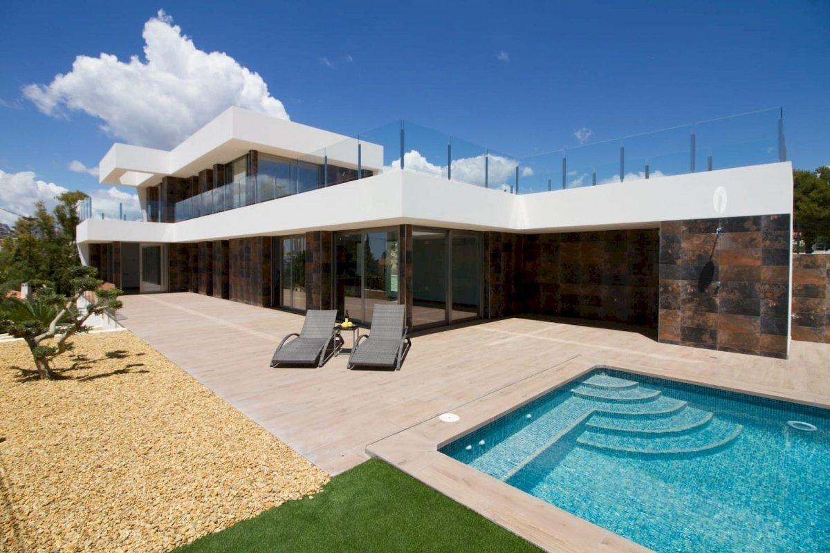 Modern nieuwbouw villa Calpe