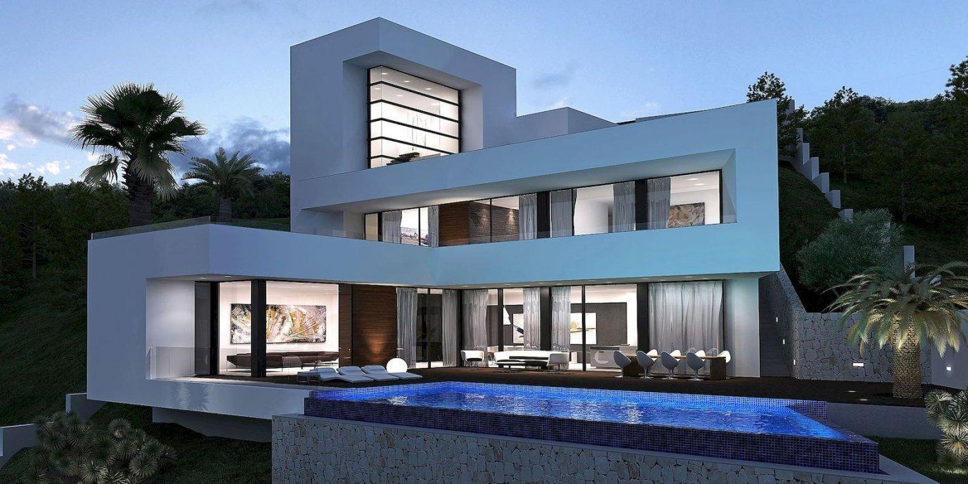 Moderne nieuwbouw project villa Altea