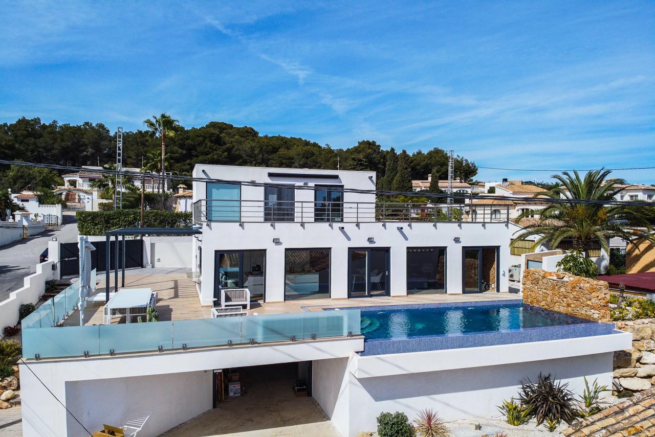 Nieuwbouw villa Benissa