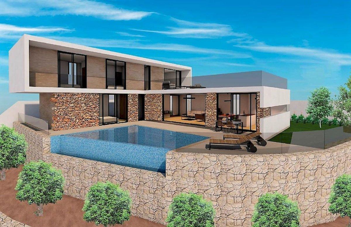 Nieuwbouw project villa Benissa